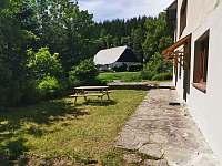 zahrada za domem - Říčky v Orlických horách