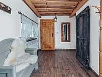 Vstupni hala / veranda - chalupa k pronajmutí Valteřice