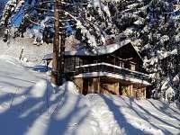 ubytování Lyžařský vlek Nový Hrádek - Panská stráň na chatě k pronájmu - Deštné v Orlických horách