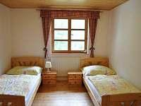 část A - 2 lůžkový pokoj - chata ubytování Dolní Morava