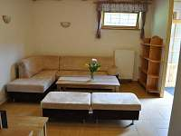 část B - společnská místnost - chata k pronajmutí Dolní Morava