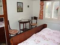 Horní ložnice 1 - pronájem chalupy Dolní Orlice
