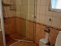 Koupelna s wc - chalupa k pronájmu Dolní Orlice