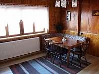 obývací pokoj - chalupa k pronájmu Pastviny
