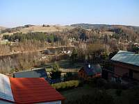 výhled z balkónu - pronájem chalupy Pastviny