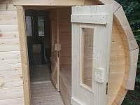 Sauna - chata ubytování Deštné v Orlických horách