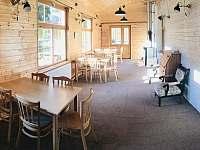 Společenská místnost s krbem - Sedloňov