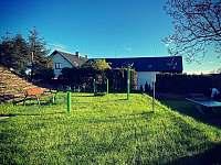 Dětské hřiště - pronájem apartmánu Přibyslav