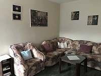 Obývací pokoj - apartmán ubytování Přibyslav