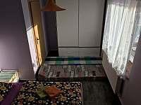přistýlka 2x v ložnici - pronájem apartmánu Přibyslav