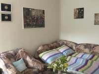 Rozkládací gauč - apartmán k pronájmu Přibyslav