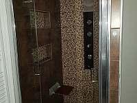 Sprchový kout přízemí - chata ubytování Olešnice v Orlických horách