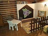 Světnice - dětský koutek - Olešnice v Orlických horách