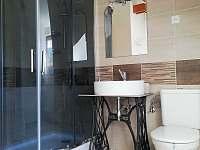 koupelna č.2 patro - chalupa k pronájmu Dolní Boříkovice