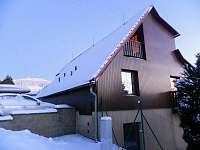 Chata v zimě - k pronajmutí Čenkovice