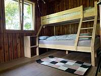 1.ložnice - chata ubytování Čenkovice