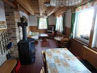 Jídelna - apartmán k pronájmu Deštné v Orlických horách
