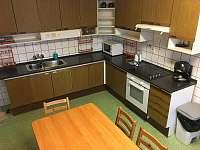 Kuchyň v prvním patře - Olešnice v Orlických horách