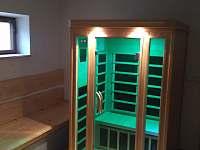 Infra sauna - chalupa k pronájmu Heroltice