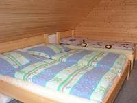 ložnice - chalupa k pronájmu Rampuše