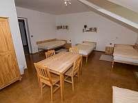 čtyřlůžkový pokoj - apartmán k pronájmu Nekoř