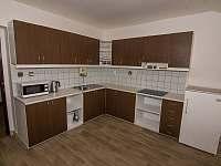 kuchyně - apartmán k pronajmutí Nekoř