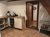 Kuchyn - chalupa k pronájmu Verměřovice