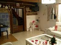 obývací pokoj - chalupa ubytování Verměřovice