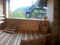 sauna - pronájem chalupy Verměřovice