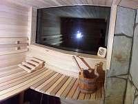 sauna - chalupa k pronájmu Verměřovice
