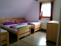 ložnice - 3 lůžková - apartmán č.2