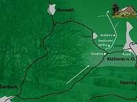 mapa - chalupa k pronajmutí Klášterec nad Orlicí