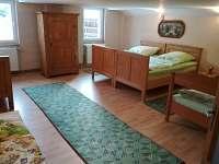 Velká ložnice  s pěti luzky