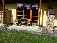 Terasa apartmánu - pronájem Říčky v Orlických horách