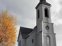 novogotická kaple Sv. Anny u chalupy