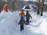 první sněhová nadílka... :-)