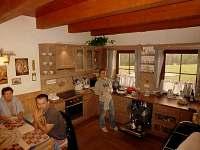 sednice - kuchyň