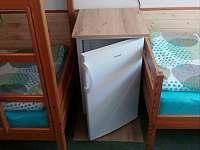 lednička na pokoji - chata k pronájmu Bystré u Dobrušky
