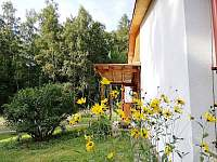 letní pohled - chata ubytování Bystré u Dobrušky