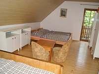 4-lůžková ložnice 1 manželská +2 oddělené