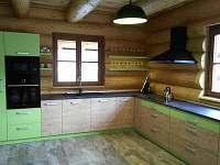 kuchyň - srub k pronajmutí Červená Voda - Dolní Orlice