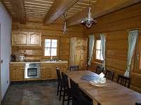 Kuchyňská linka s jídelním koutem - Orlické Záhoří