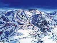 Ski mapa - areál Říčky