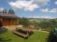 Chata Pastviny - terasa