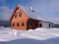 Roubenka Orlické Záhoří zima - chalupa ubytování Orlické Záhoří
