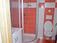 sprchový kout + Wc v přízemí