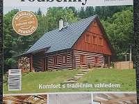 Časopis sruby a roubenky si naši chalupu vybral na titulní stranu - Deštné v Orlických Horách
