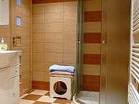 horní koupelna - pronájem chaty Valteřice