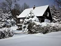Chata k pronajmutí - zimní dovolená Valteřice