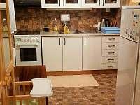 kuchyně - pronájem chaty Valteřice